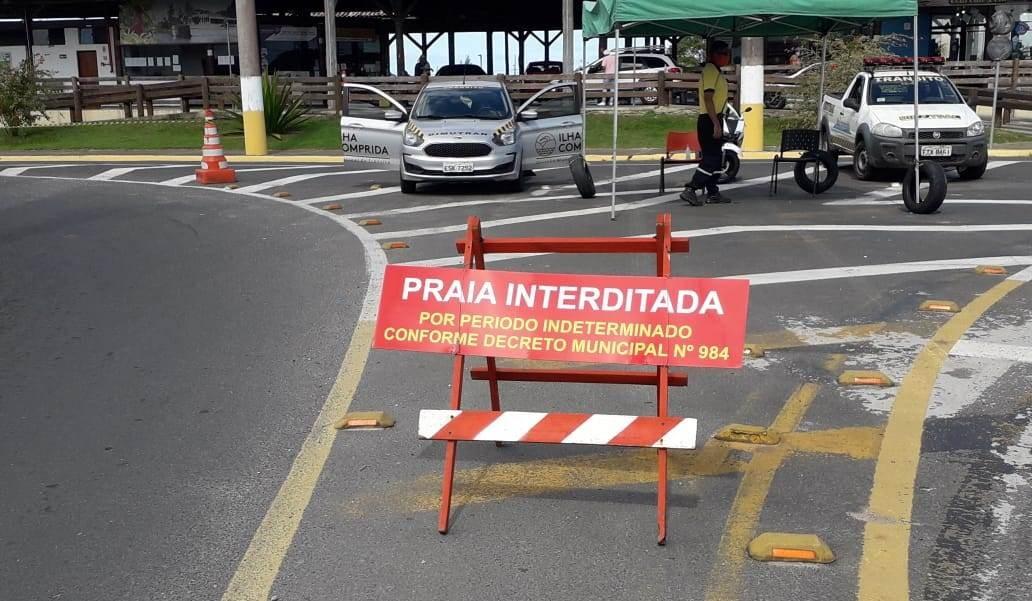 Ilha Comprida obriga isolamento de moradores que ficarem mais de 24 horas fora da cidade