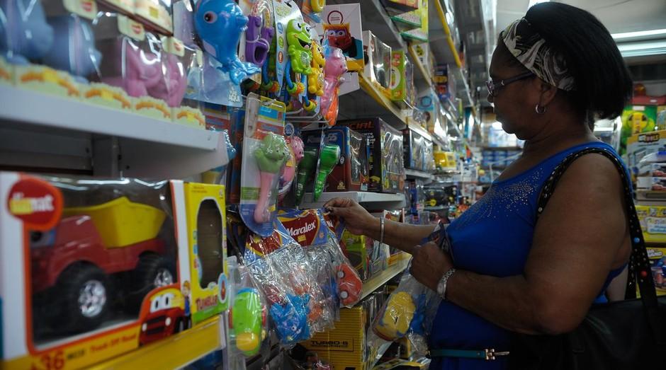 Vendas em shopping cresceram durante período de Natal (Foto: Reprodução/Agência Brasil)
