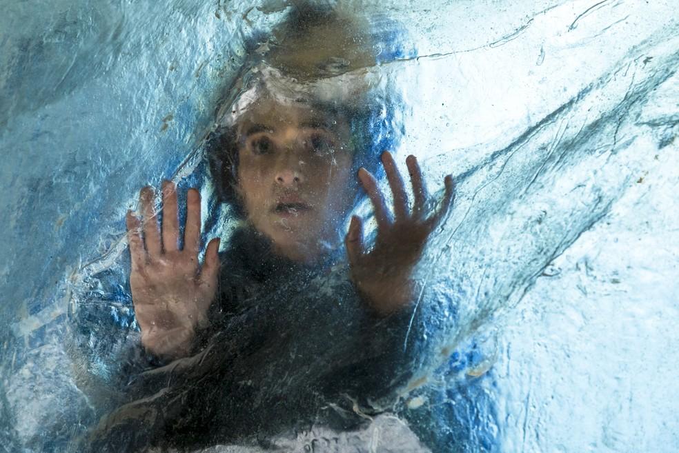 Marocas é a primeira a descongelar (Foto: Sergio Zalis/Globo)