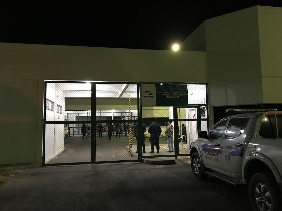 PM reforça segurança dentro do Centro Socioeducativo de RR após suspeita de novo conflito