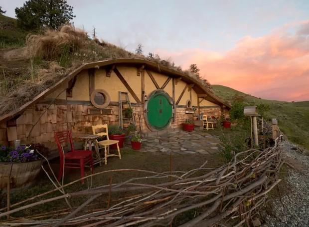 Casa Underground, Orondo, WA, Estados Unidos (Foto: Airbnb/Reprodução)