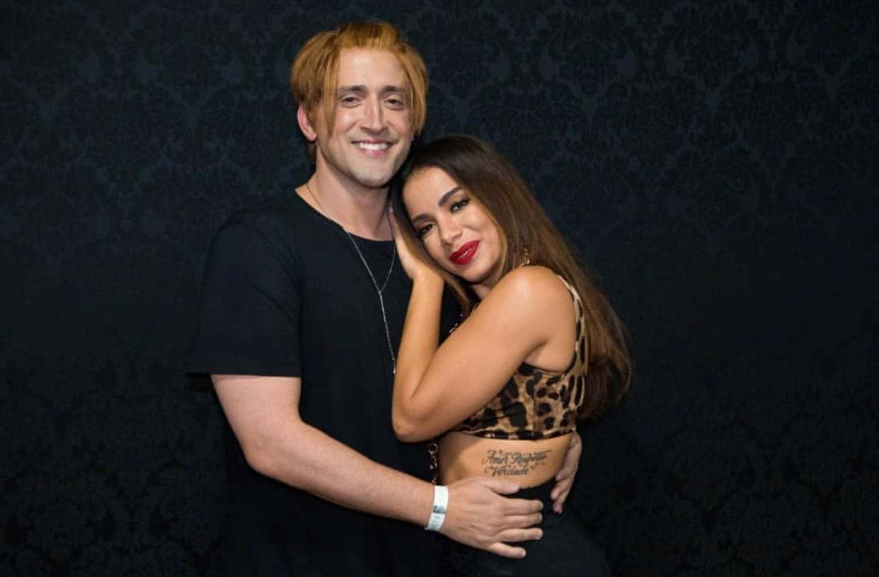 Anitta ao lado de Paulo Gustavo e em breve na telona (Foto: Reprodução Instagram)