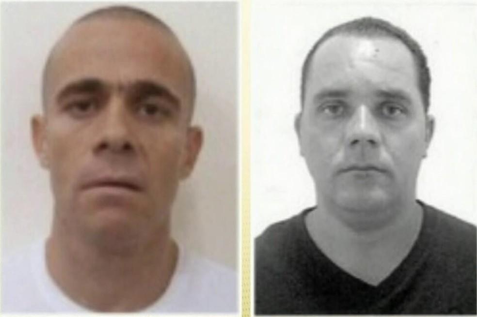 'Gegê do Mangue' e 'Paca' foram executados no Ceará  — Foto: Reprodução/TV Globo