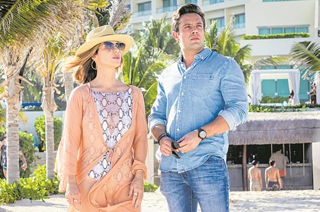 Rafael Cardoso e Guilhermina Guinle em cena de 'Salve-se quem puder' (Foto: TV Globo/João Miguel Júnior)