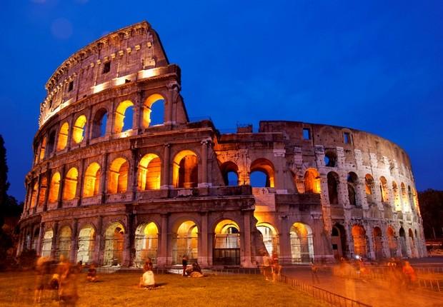 Coliseu de Roma: volta das visitas noturnas (Foto: Shutterstock)