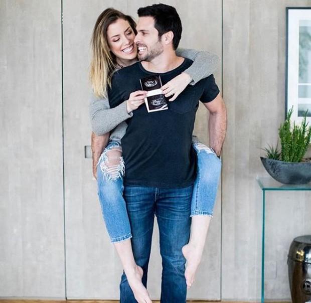 Fabiana Justus e o marido, Bruno Levi D'Ancona (Foto: Reprodução/Instagram)