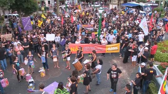 Interior do RS tem protestos contra a reforma da Previdência