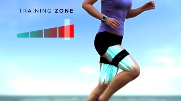 Leo monitora atividade muscular do usuário e ajuda a evitar lesões (foto: Reprodução/YouTube)