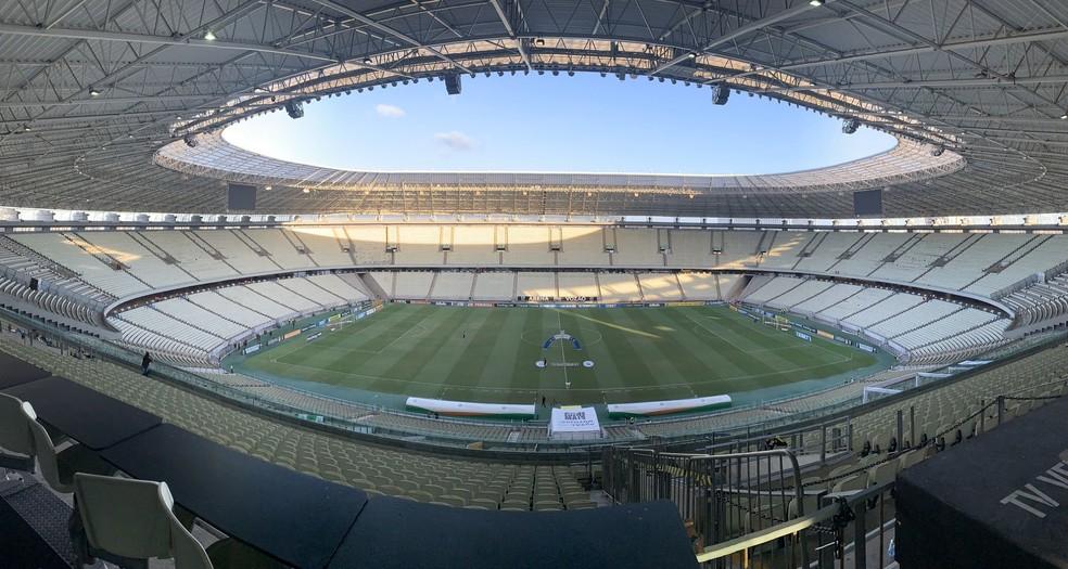 Não assistiu ao jogo? Leia aqui o resumo e a ficha técnica da partida entre Ceará e Flamengo na Arena Castelão