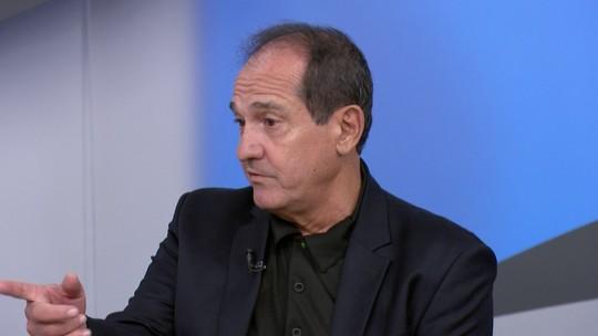 """Muricy relembra bronca, e Galvão comenta pazes de Rhodolfo e Vizeu: """"Pareceu falso"""""""