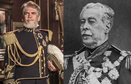 Jackson Antunes será Duque de Caxias, que serviu como mestre de armas a Dom Pedro II e de quem se tornou amigo Globo e reprodução