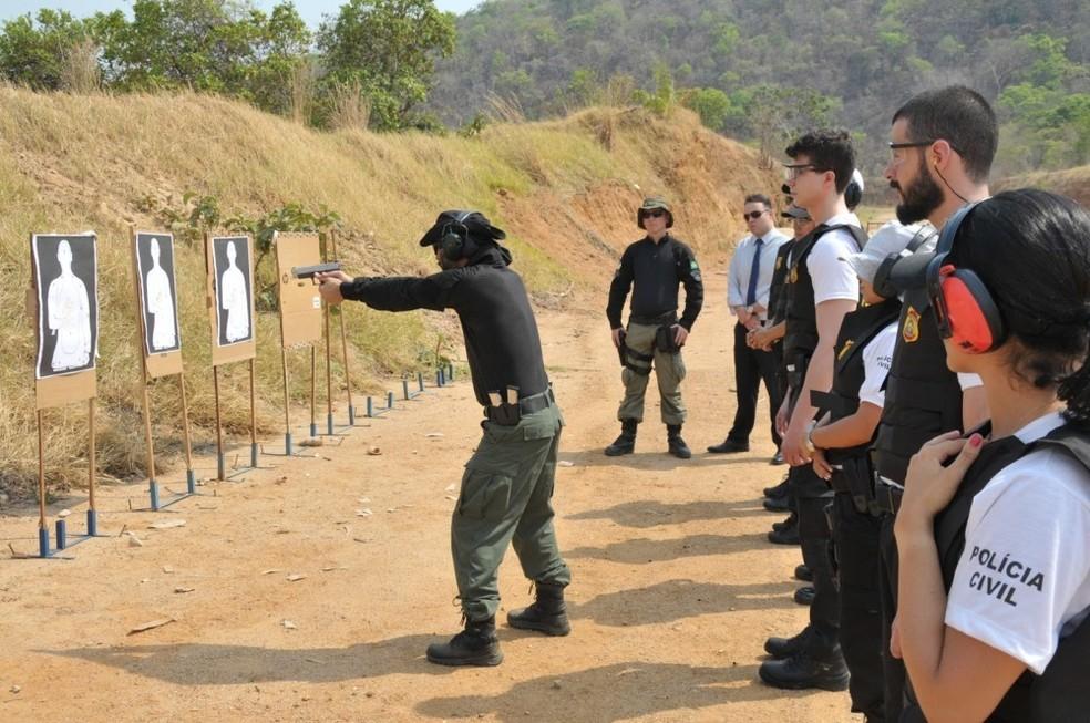 Aprovados no concurso da Polícia Civil são nomeados (Foto: Tharson Lopes/Governo do Tocantins)