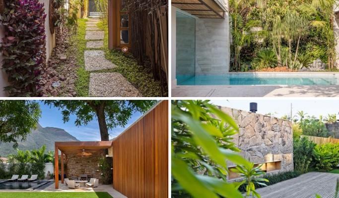 Paisagismo com pedras: 10 ideias para o jardim da sua casa