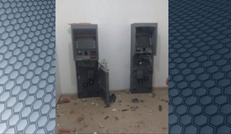 Bandidos explodem agência bancária em Nova Olinda do Maranhão