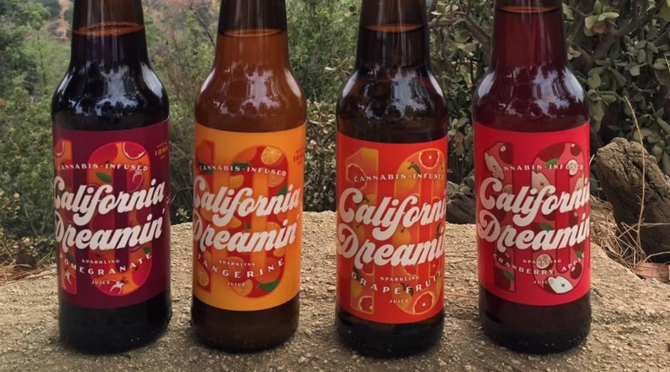 california dreamin, bebida, maconha, startup (Foto: Reprodução/Facebook)
