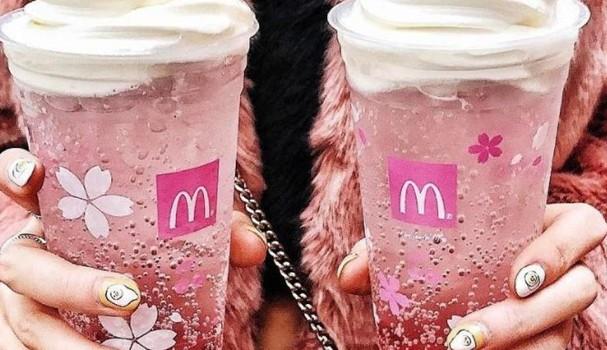 Nova bebida do McDonald's é exclusiva do Japão (Foto: Reprodução/Instagram)