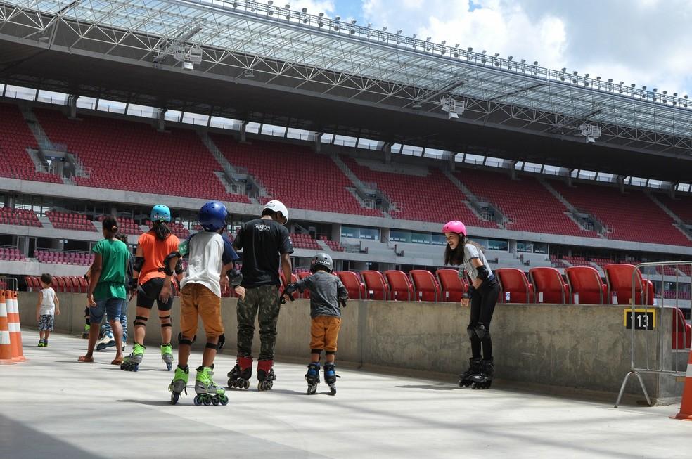 Evento na Arena de Pernambuco tem atrações para todas as idades (Foto: Maurício Penedo/Arena de PE)