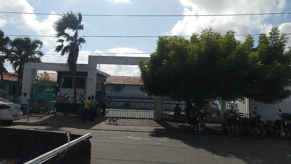 Hospital Frotinha de Messejana teve exames cancelados por falta de energia elétrica — Foto: Halisson Ferreira/TVM