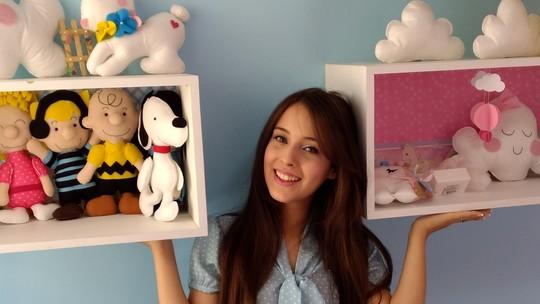 Feltro vira artigo de luxo em bonecos e lembranças infantis