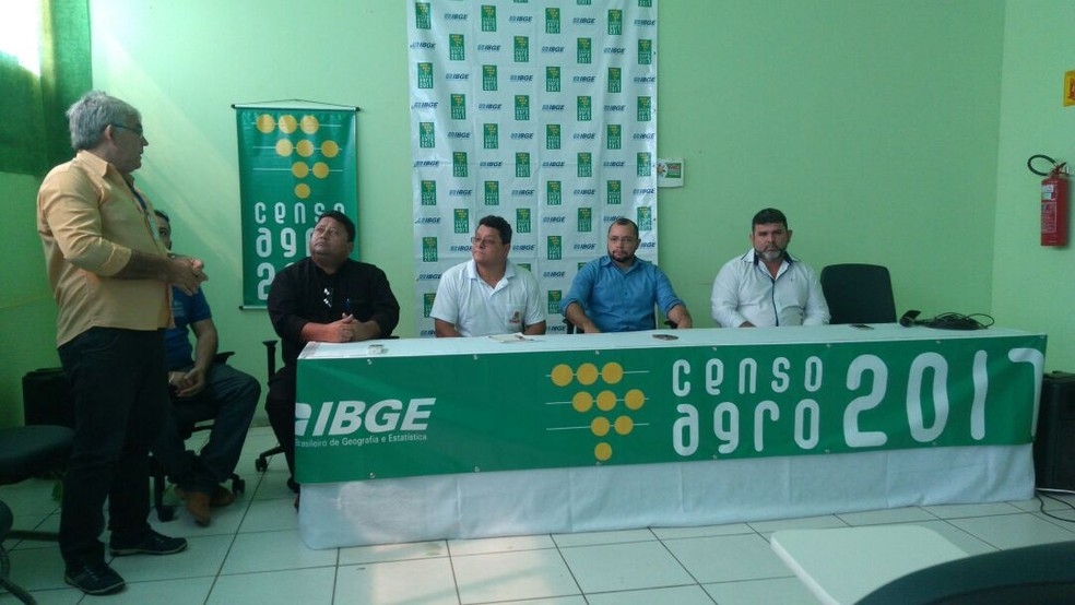 Reunião aconteceu na Fetagro, na manhã desta terça-feira (12) (Foto: Pâmela Fernandes/G1)