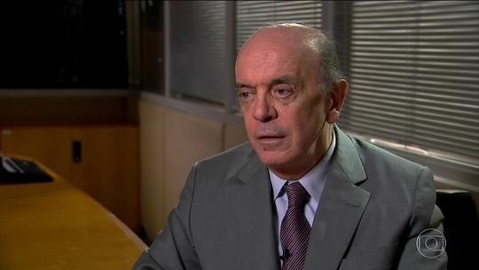 Suíça envia à PGR documentos sobre suspeita de caixa 2 para Serra
