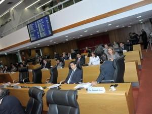 Orçamento de 2014 foi aprovado nesta segunda-feira (23) (Foto: Divulgação/Assembleia Legislativa)