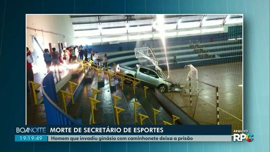 Réu por invadir ginásio com caminhonete e matar ex-jogador de vôlei é solto, em Assis Chateaubriand
