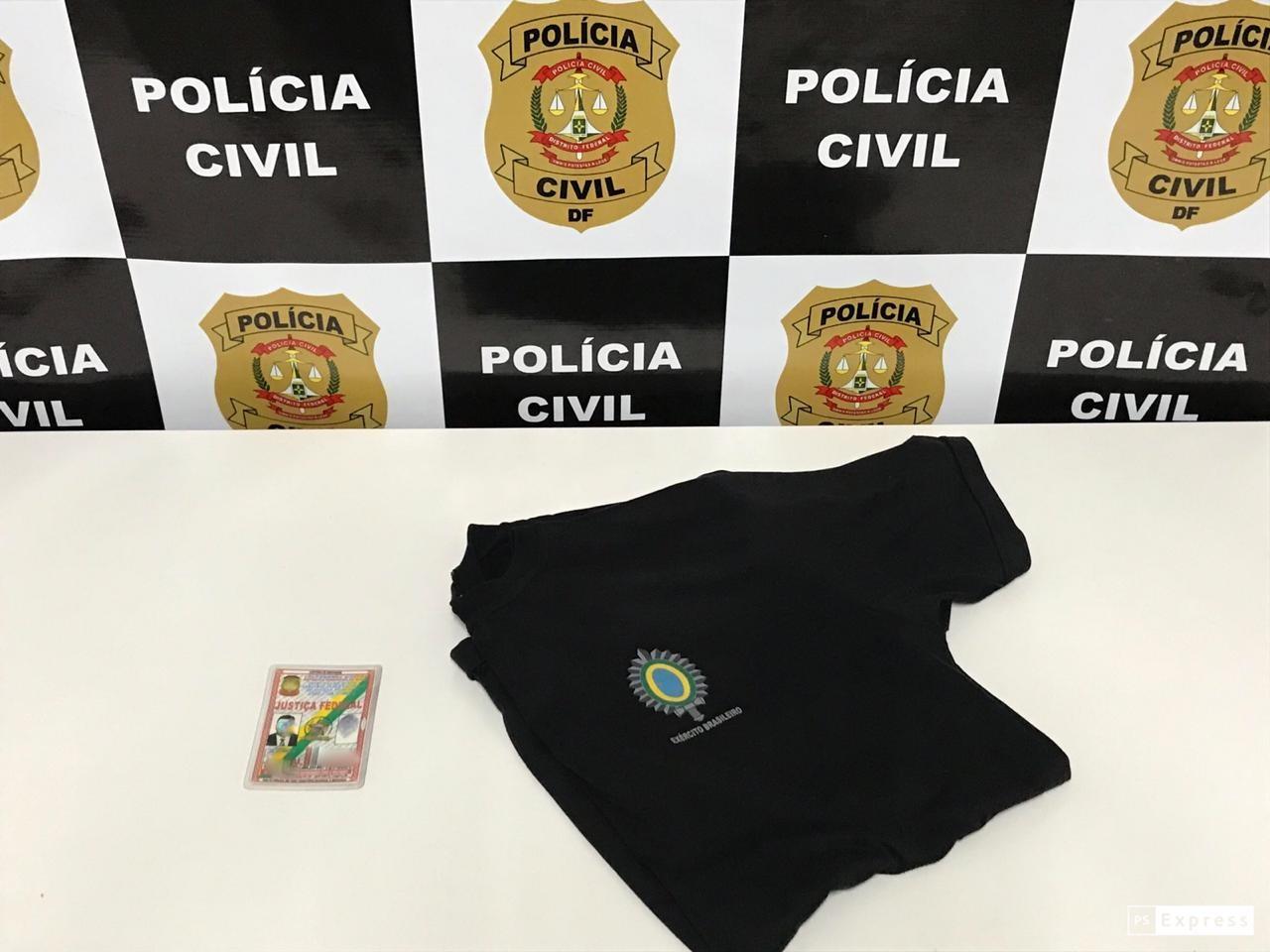 Polícia Civil prende homem de 46 anos que se passava por juiz federal no DF