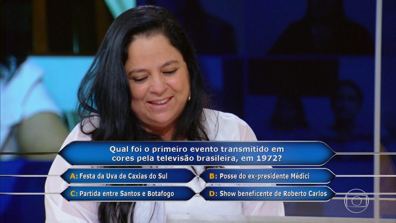 Alessandra Nunes na busca por prêmio milionário