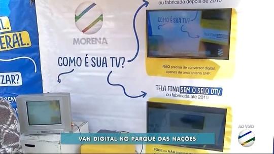Van Digital faz atendimento no Parque das Nações em Dourados