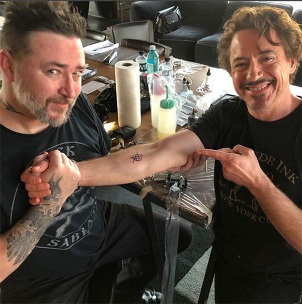Robert Downey Jr. e Joshua Lord (Foto: Instagram)