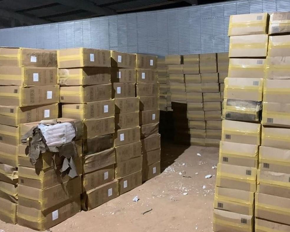Polícia apreende 900 caixas de cigarros contrabandeados em Mossoró ...