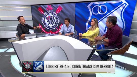 Corinthians analisam estreia de Osmar Loss como técnico no lugar de Fabio Carille