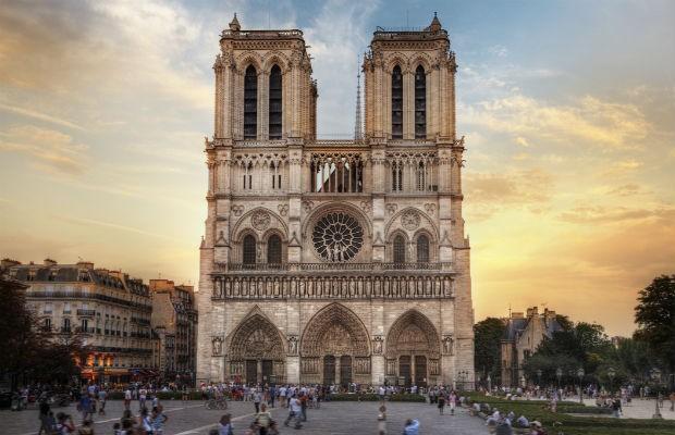 O que se perdeu e o que foi salvo no incêndio da Catedral de Notre-Dame (Foto: Getty Images)