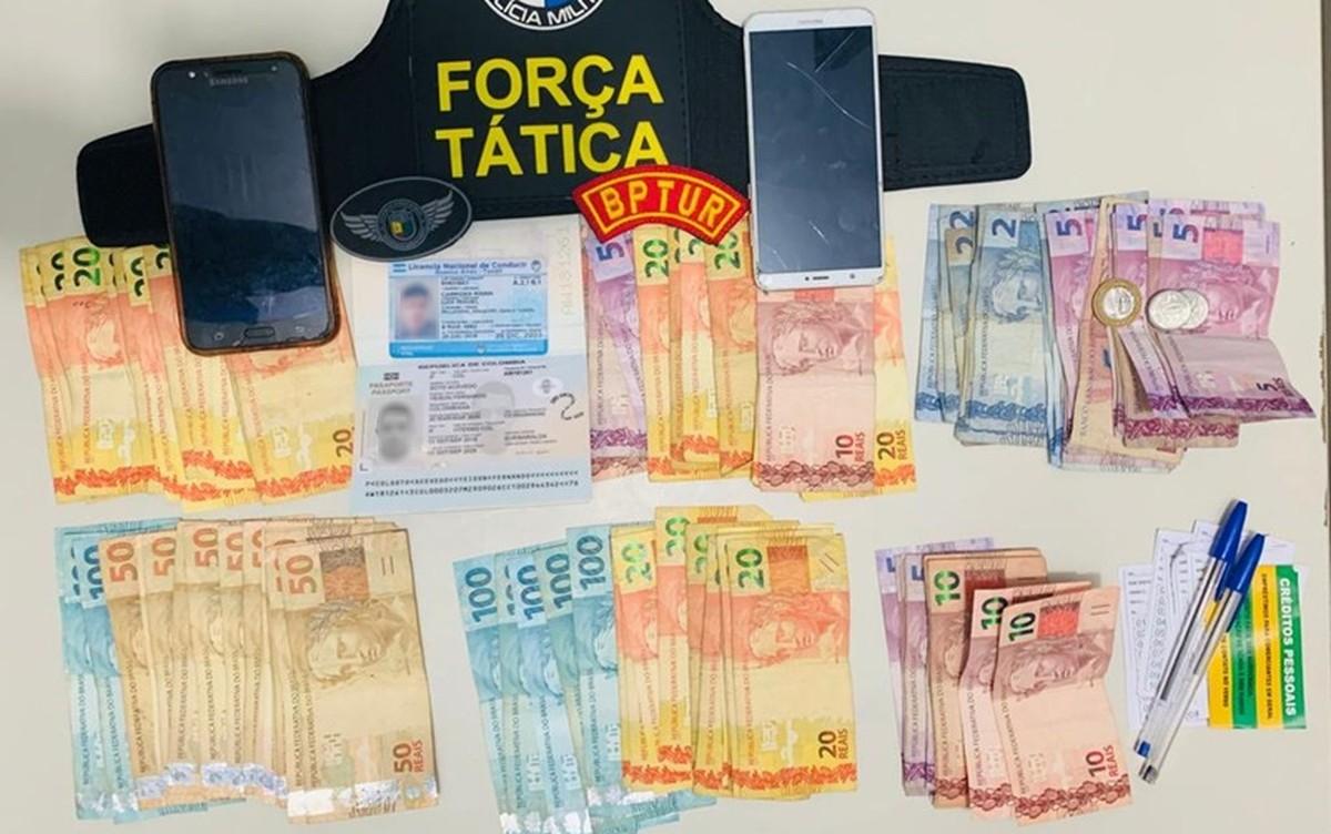 Suspeitos de agiotagem são presos na Zona Sul de Aracaju - G1