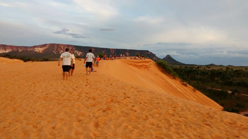 Visitação às dunas do Jalapão deve ser reaberta durante a manhã após um ano em horário reduzido - Notícias - Plantão Diário