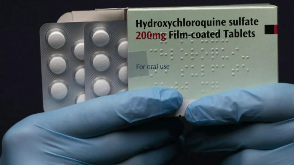 Cloroquina e Hidroxicloroquina não têm eficácia comprovada contra a Covid — Foto: Reprodução/TV Globo