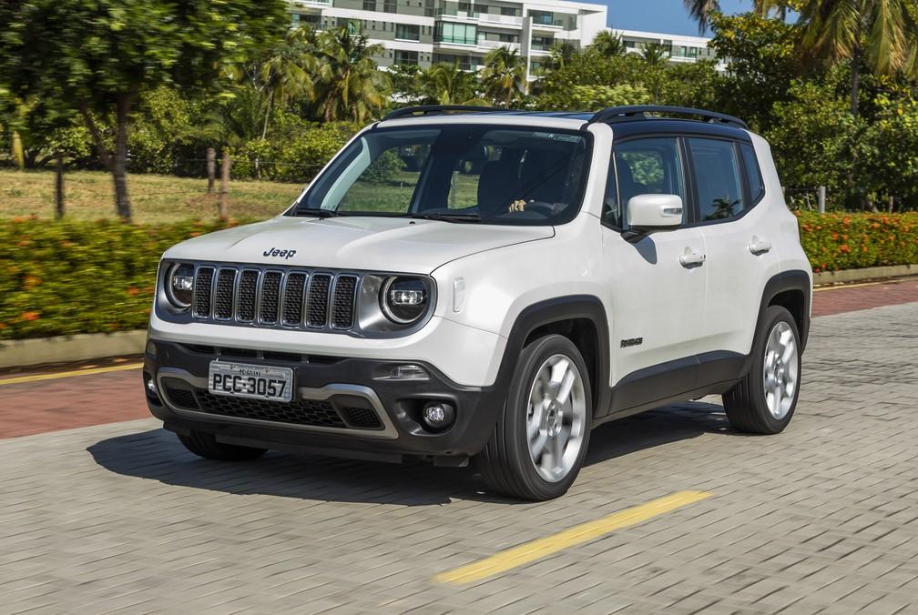 Jeep Renegade 2019 — Foto: Divulgação