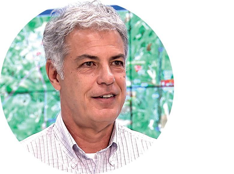 Agenor Cunha Pavan, diretor de operações da Usina São Martinho (Foto: Reprodução/Programa Globo Rural)