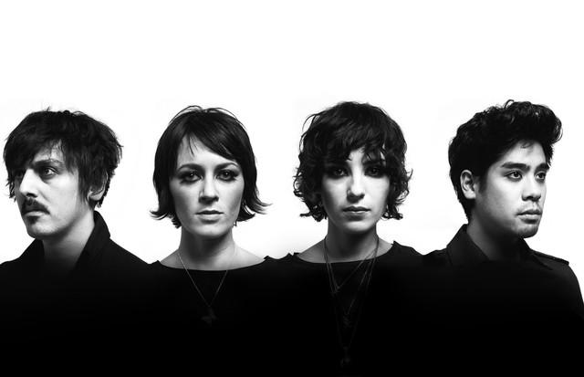 Os quatro integrantes da banda Ladytron (Foto: Divulgação)