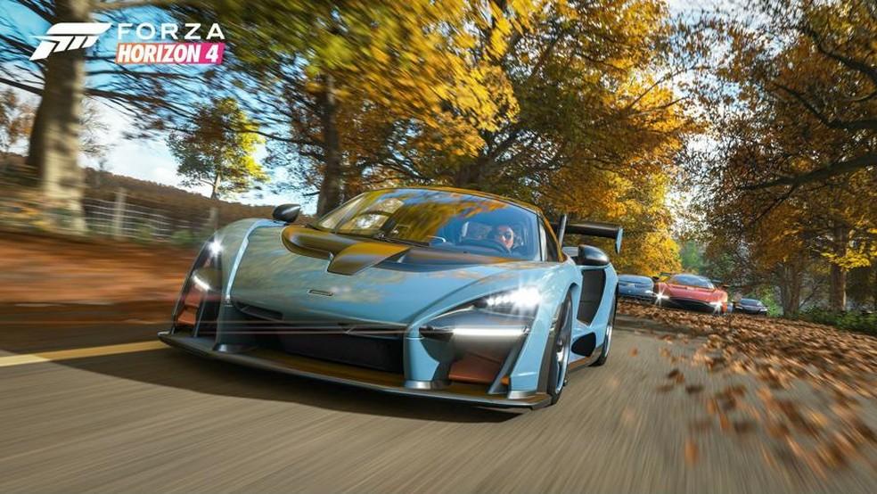 Forza Horizon 4 terá otimizações para o Xbox One X (Foto: Divulgação/Microsoft)