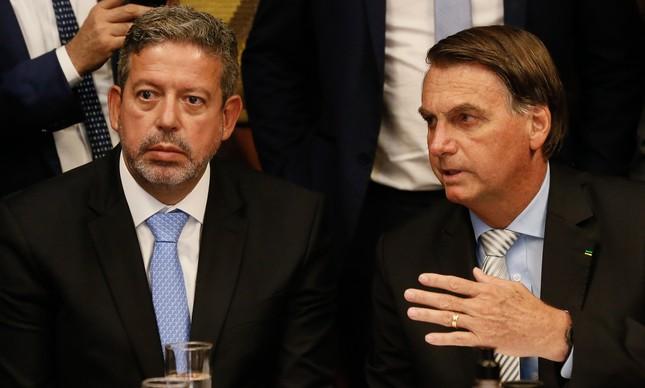 Arthur Lira e Jair Bolsonaro