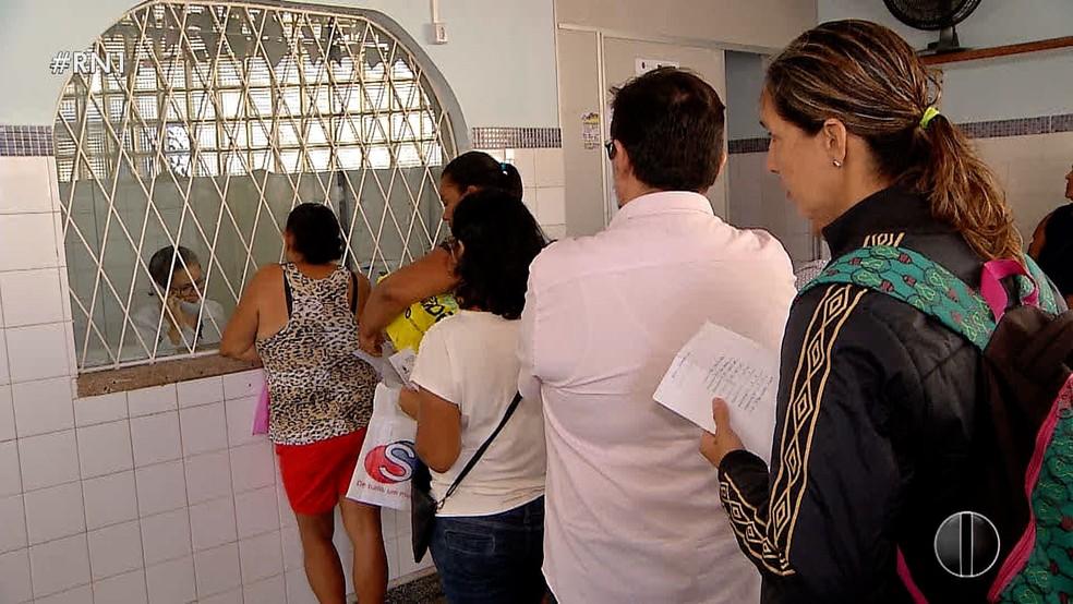 População sofre com a falta de insulina nos hospitais públicos de Natal (Foto: Reprodução/Inter TV Cabugi )