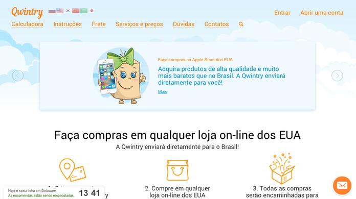 04a410b1c4db3 Como comprar em lojas dos EUA e receber no Brasil