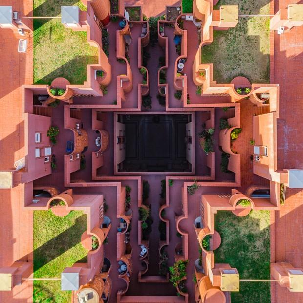 Série de fotos feitas com drone mostra Barcelona do alto (Foto: Márton Mogyorósy)