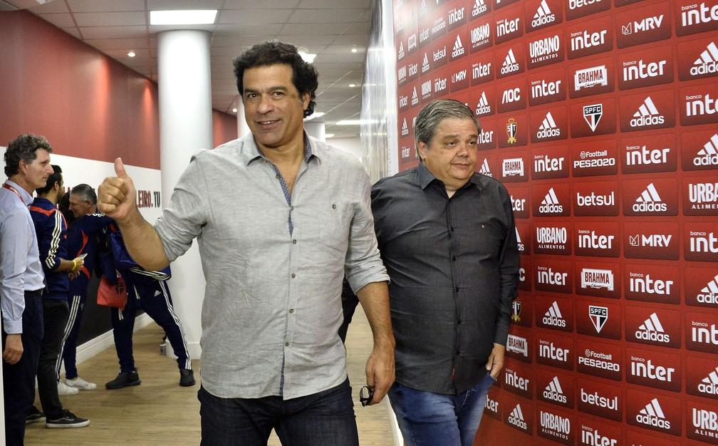 Reviravolta no São Paulo: Raí continuará no cargo de executivo de futebol — Foto: Marcos Ribolli