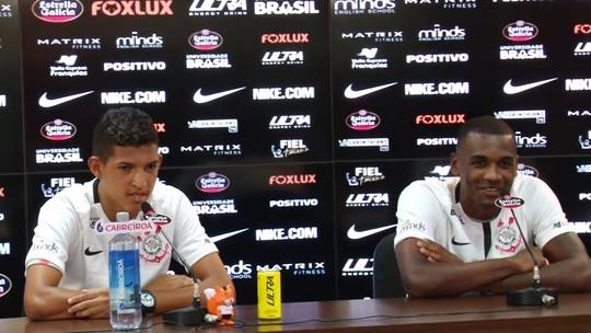"""Sétimo zagueiro, Marllon chega otimista ao Corinthians: """"Minha hora vai chegar"""""""