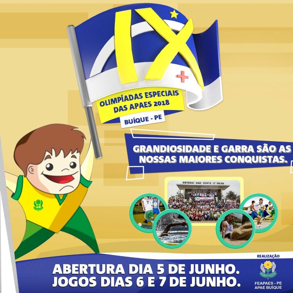 Olimpíadas serão em junho (Foto: Divulgação)