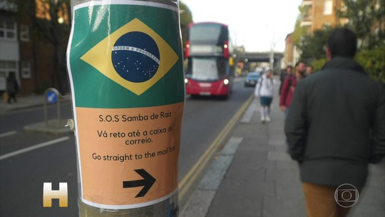 Crônica: uma roda de samba em Londres que reúne gente de todo o mundo
