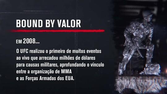"""""""UFC: 25 Anos Em Curtas"""": filme mostra relação entre Ultimate e Forças Armadas dos EUA"""